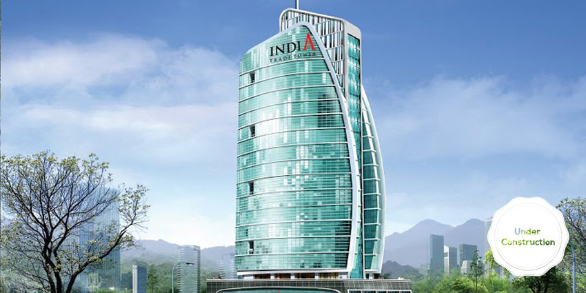 omaxe india trade tower itt