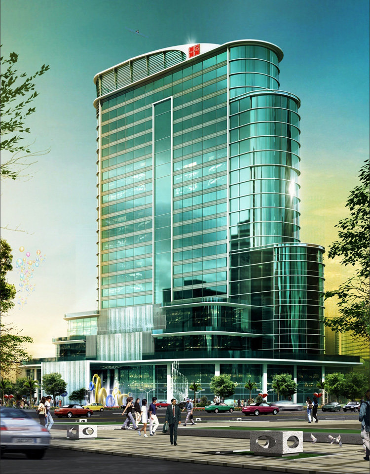 maxe international Trade Tower INTT elevation